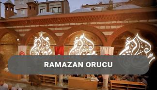 Ramazan Orucu